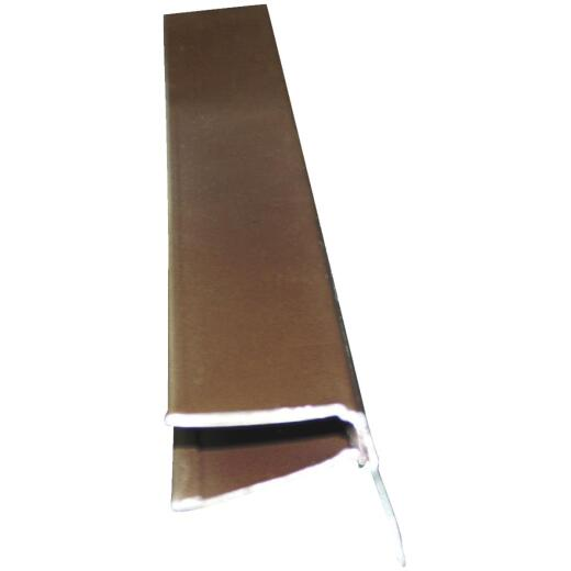 Klauer Brown Aluminum F-Channel Soffit Starter Strip