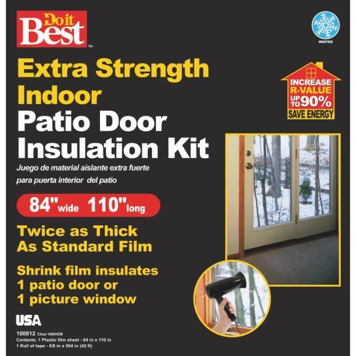 Do it Best 84 In. W. x 110 In. L. Patio Door/Window Shrink Film