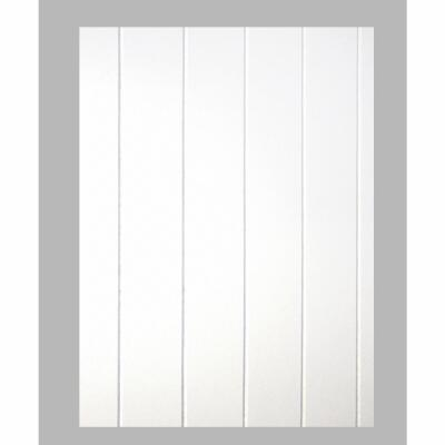 DPI 4 Ft. x 8 Ft. x 3/16 In. White Dover V-Groove Wall Paneling