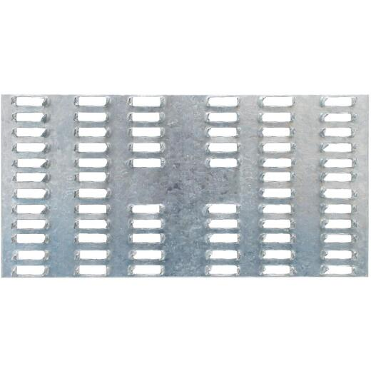 Simpson Strong-Tie 3 in. W x 6 in. L Galvanized Steel 20 Gauge Mending Plate
