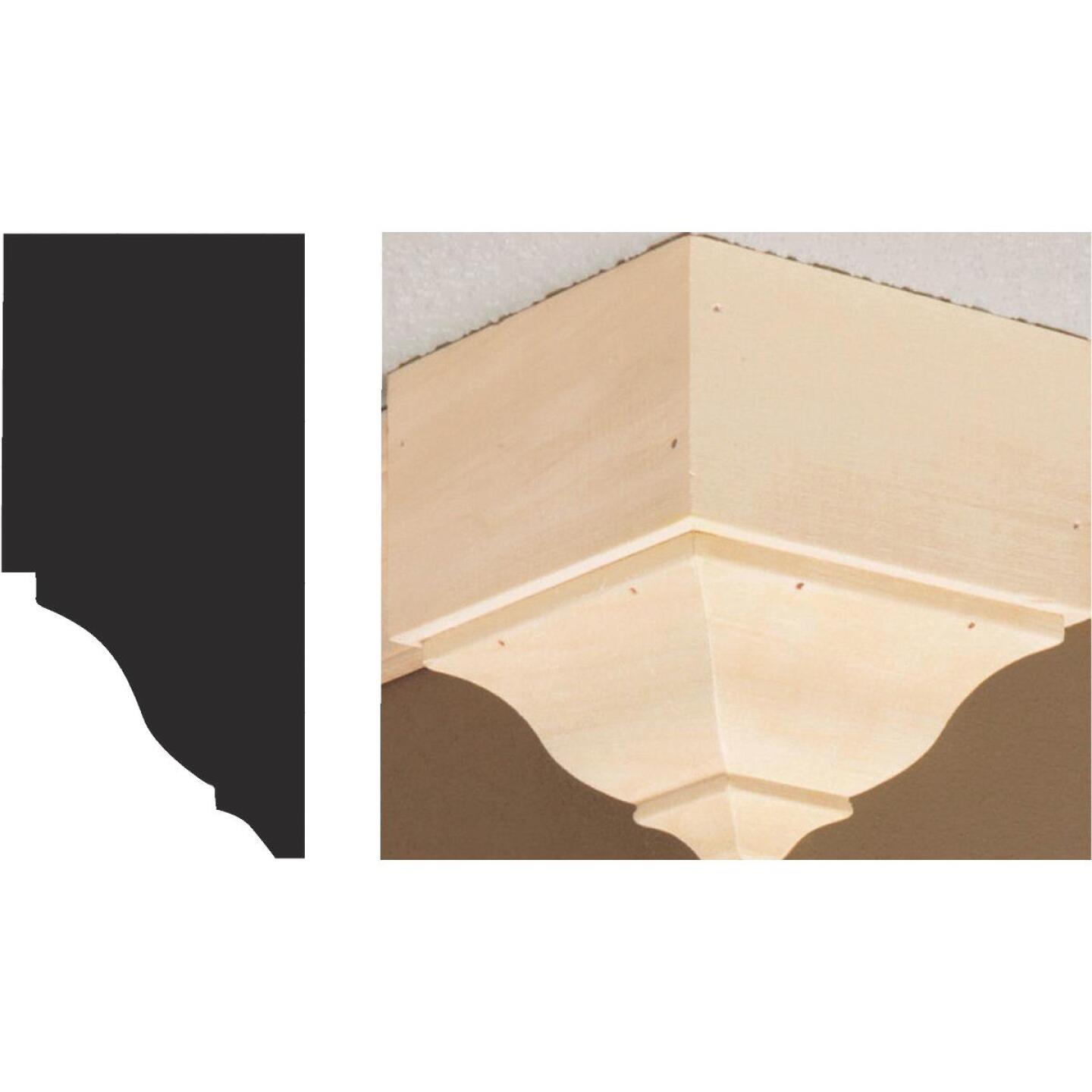 House of Fara 4-3/8 In. x 4-1/4 In. x 4-1/4 In. Unfinished Hardwood Outside Corner Molding Blocks Image 1