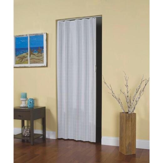 Spectrum Horizon 32 In. W. x 80 In. H. White Accordion Folding Door