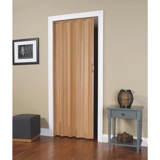 Spectrum Via 24 In. to 36 In. W. x 80 In. H. Oak Accordion Folding Door