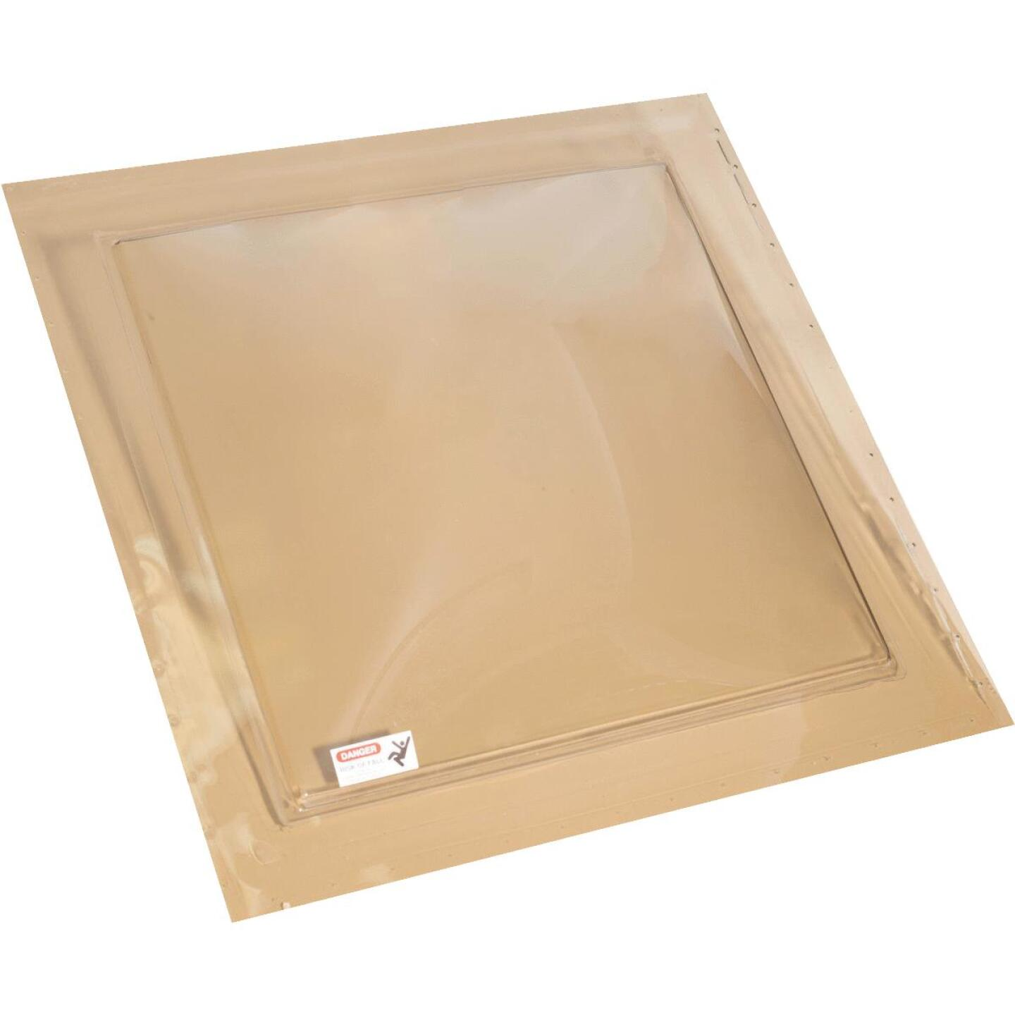 Kennedy Skylights 24 In. x 24 In. Bronze Self-Flashing Domed Skylight Image 1