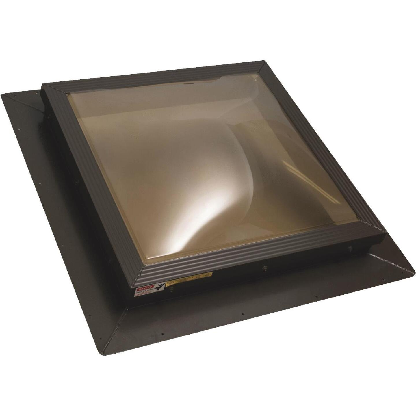 Kennedy Skylights 24 In. x 24 In. Bronze Dome Insulated Skylight Image 1