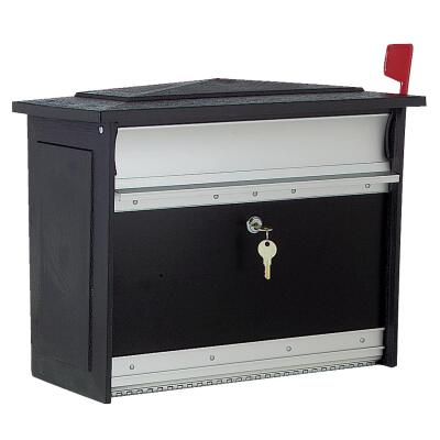 Gibraltar Mailsafe Lockable Security Wall Mount Mailbox