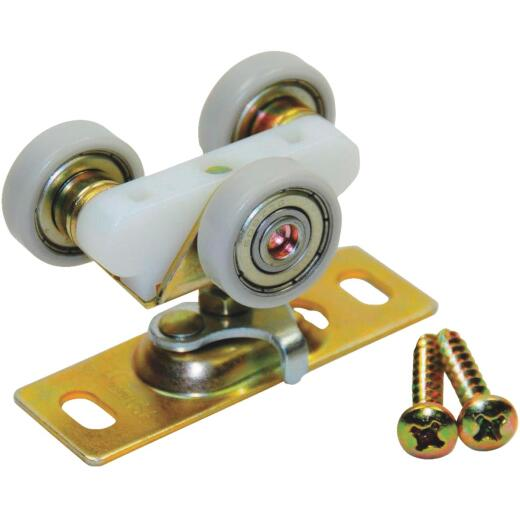 Johnson Hardware 1 In. 3-Wheel Ball Bearing Door Hanger