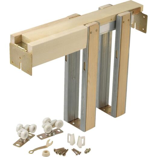 Johnson Hardware 1500 Series 36 In. To 80 In. Natural Universal Pocket Door Frame