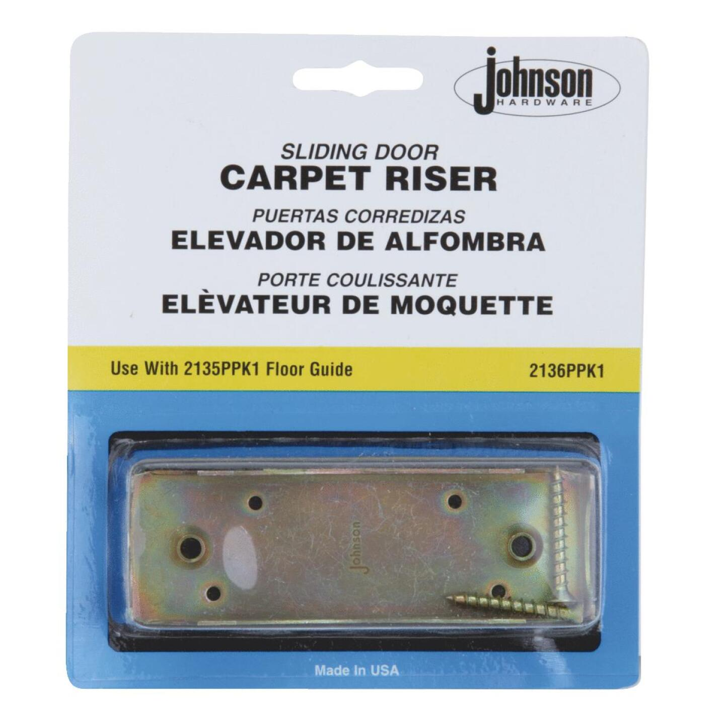 Johnson Hardware Carpet Riser Image 1