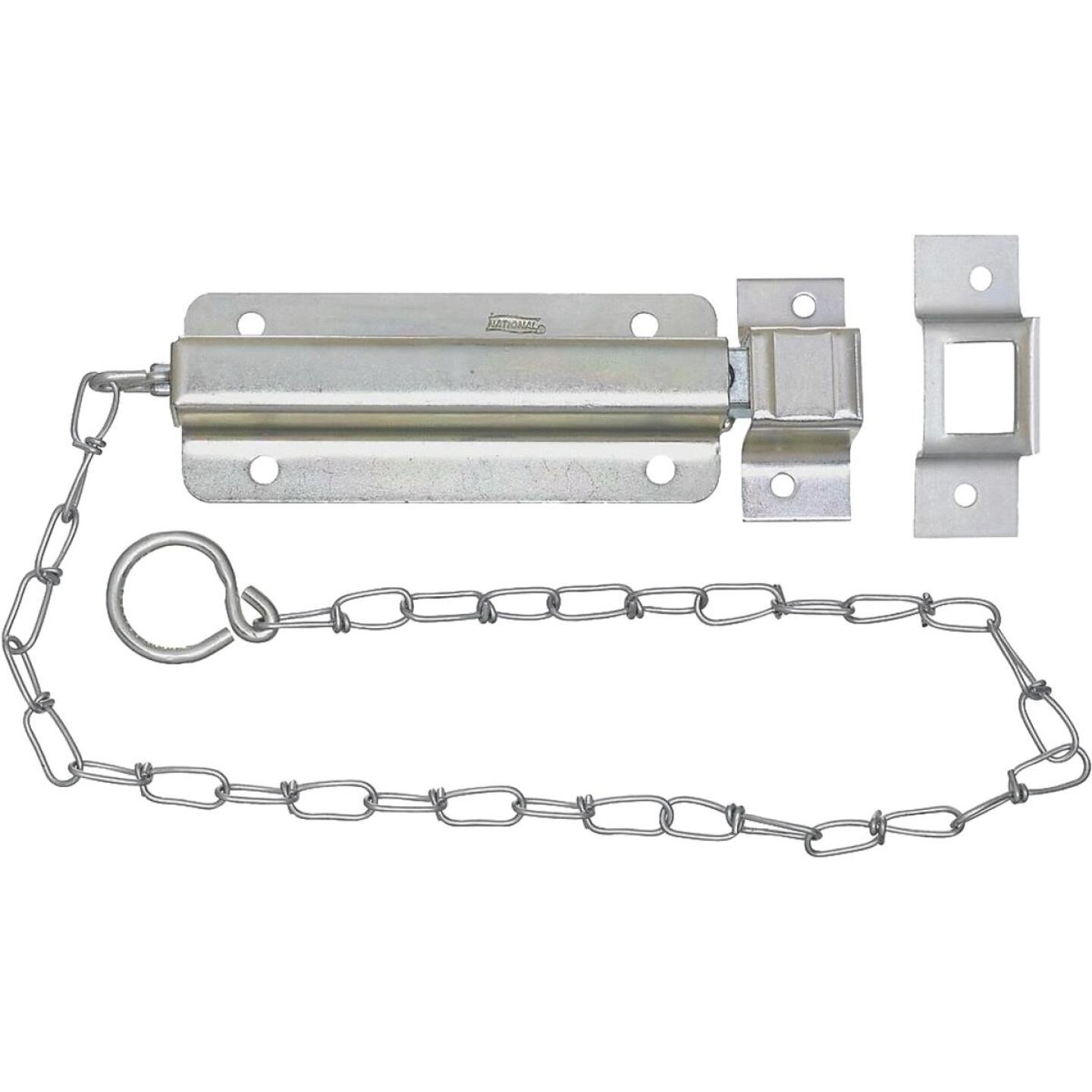 National Zinc Chain Bolt Image 1