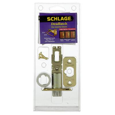 Schlage Triple Option Adjustable Entry Latch