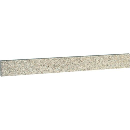Design House 4 In. H x 21-1/4 In. L Golden Sand Granite Side Splash, Universal