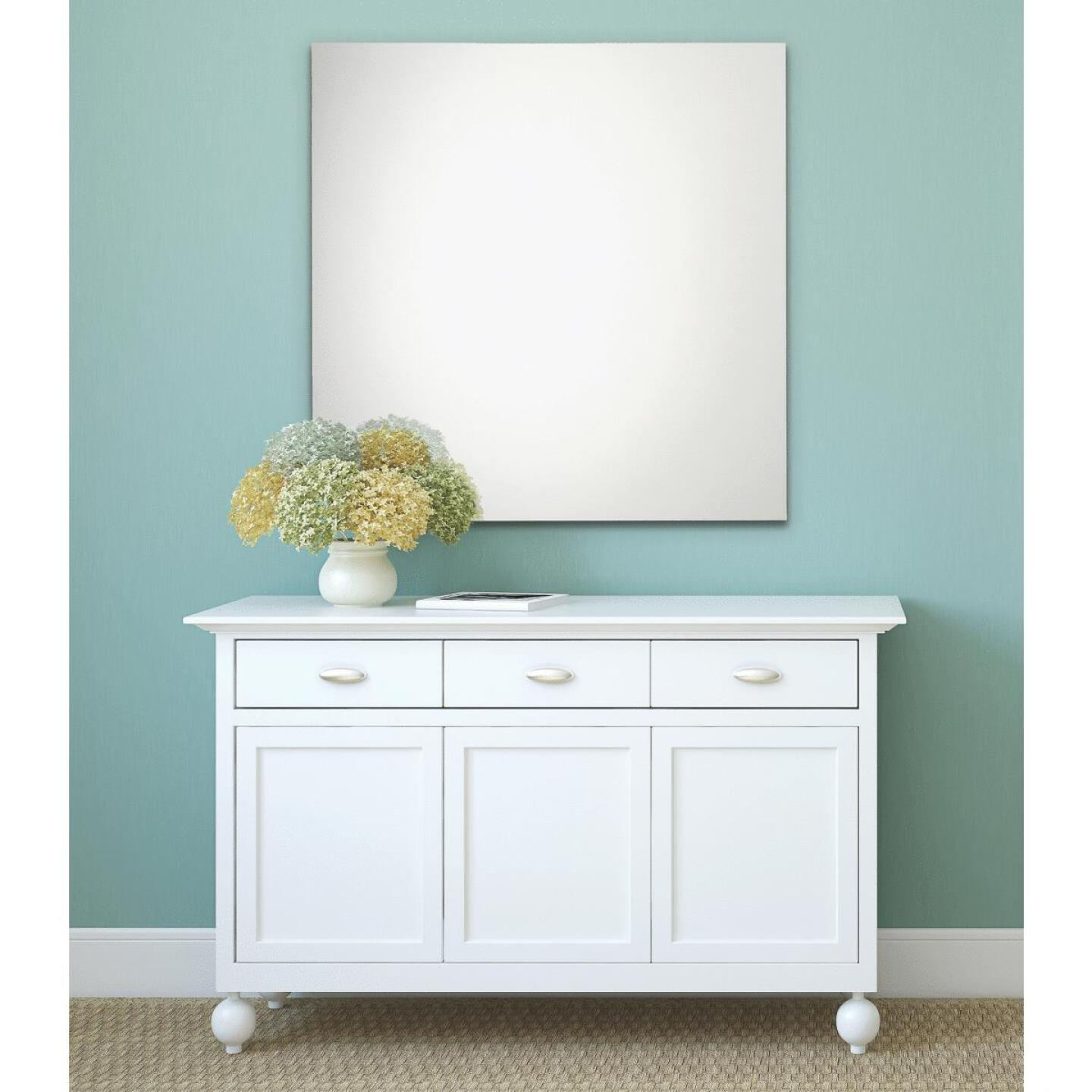 Erias Home Design 36 In. W. x 36 In. H. Frameless Polished Edge Wall Mirror Image 1