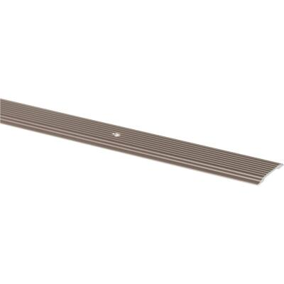 M-D Pewter 1-1/4 In. x 6 Ft. Aluminum Seam Binder