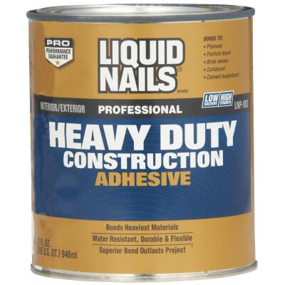 Liquid Nails 1 Qt. Professional Heavy Duty VOC Construction Adhesive