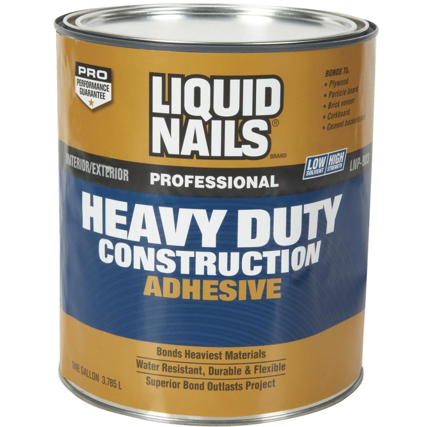 Liquid Nails 1 Gal. Professional Heavy Duty VOC Construction Adhesive Image 1