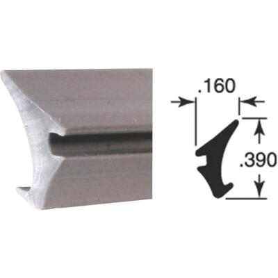 Prime-Line .160 x .390 x 200 Ft. Glass Retainer Glazing Spline