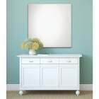 Erias Home Design 30 In. W. x 36 In. H. Frameless Polished Edge Wall Mirror Image 1