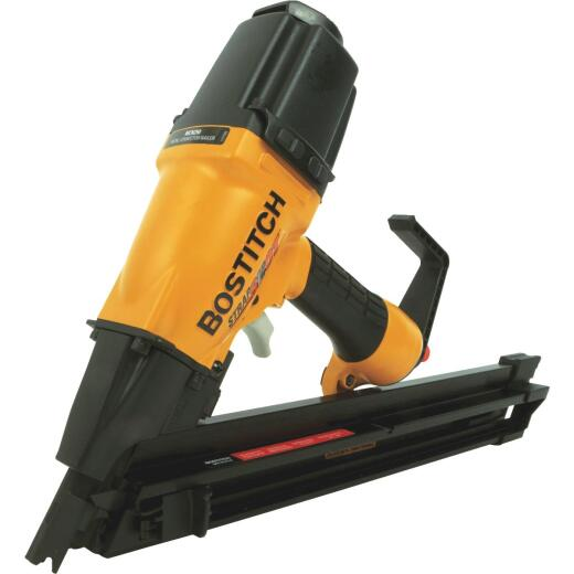Bostitch 35 Degree 2-1/2 In. Paper Tape Strapshot Metal Connector Framing Nailer