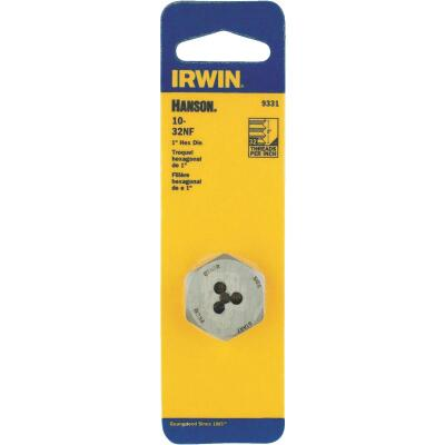 Irwin Hanson 10 In. - 32 NF Machine Screw Hex Die