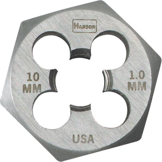 Irwin Hanson 8 mm - 1.0 Metric Hex Die