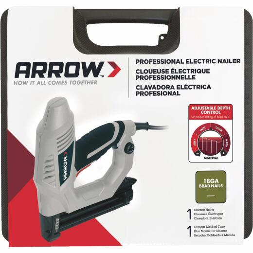Arrow 18-Gauge Heavy-Duty Electric Brad Nailer