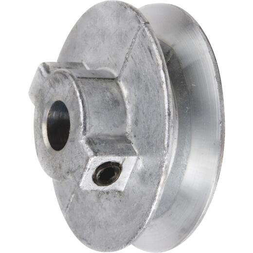 Chicago Die Casting 2 In. x 3/4 In. Single Groove Pulley