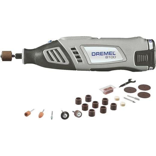 Dremel 8 Volt MAX Lithium-Ion Variable Speed Cordless Rotary Tool Kit