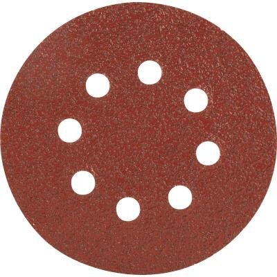 Do it Best 5 In. 40-Grit 8-Hole Pattern Vented Sanding Disc with Hook & Loop Backing (50-Pack)