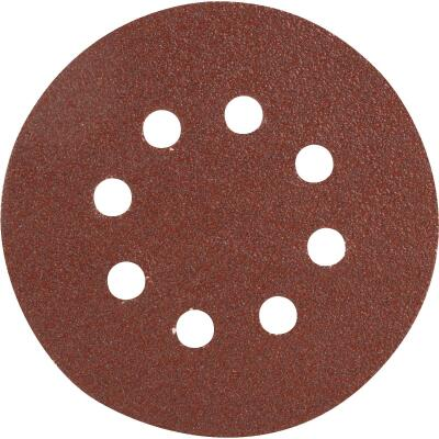 Do it Best 5 In. 60-Grit 8-Hole Pattern Vented Sanding Disc with Hook & Loop Backing (50-Pack)