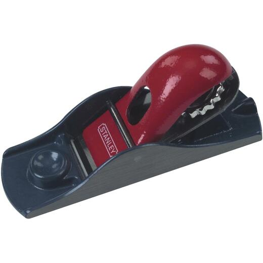 Stanley 6-5/8 In. Adjustable Block Plane with 1-5/8 In. Cutter