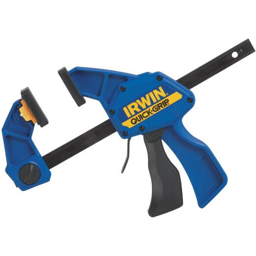 Irwin Quick-Grip 6 In. x 3-1/4 In. One-Hand Bar Clamp