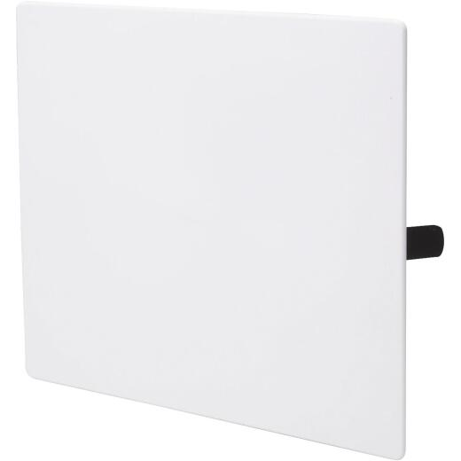 B&K 14 In. x 14 In. White Plastic Wall Access Panel