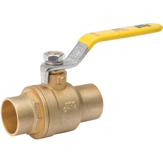 ProLine 2 In. S Brass Full Port Ball Valve