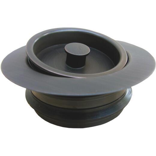 Lasco Oil Rubbed Bronze PVC Disposer Flange and Stopper