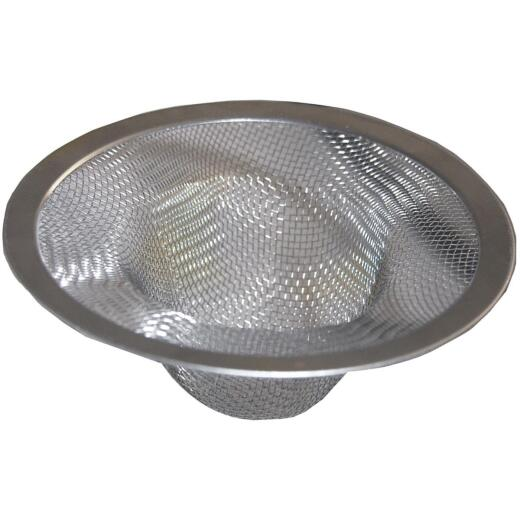 Lasco 4.4 In. Stainless Steel Mesh Kitchen Sink Strainer Cup