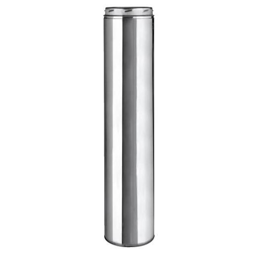 SELKIRK Sure-Temp 8 In. x 36 In. Stainless Steel Insulated Pipe