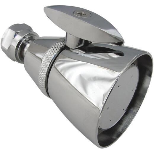 Lasco Chatam Style 1-Spray 1.8 GPM Fixed Showerhead, Chrome