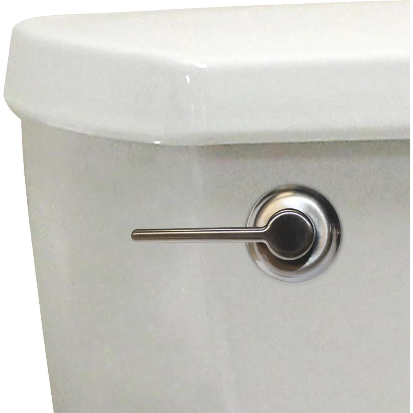 Korky StrongARM Universal Brushed Nickel Tank Lever with Classic Style Handle Image 3