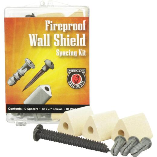 Meeco's Red Devil Fireproof Wall Spacer Kit