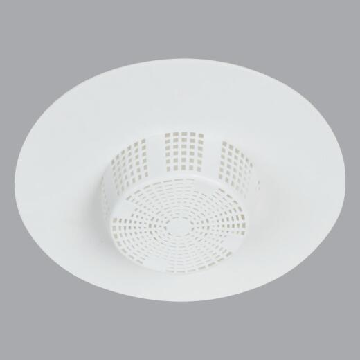 Do it White Hair Snare Sink/Tub Drain Strainer