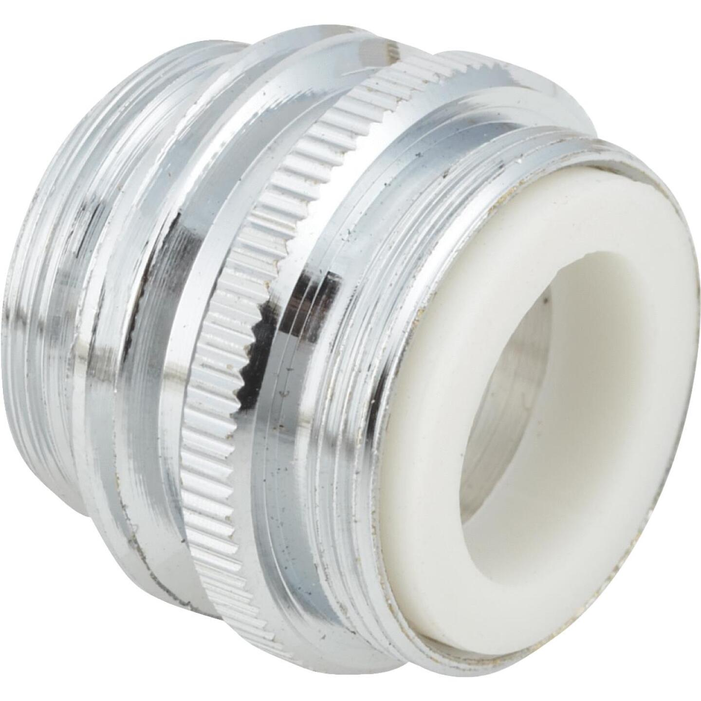 "Do it 15/16"" Outside or 55/64"" Inside to 3/4"" Dual Thread Faucet Adapter, Low Lead Image 1"
