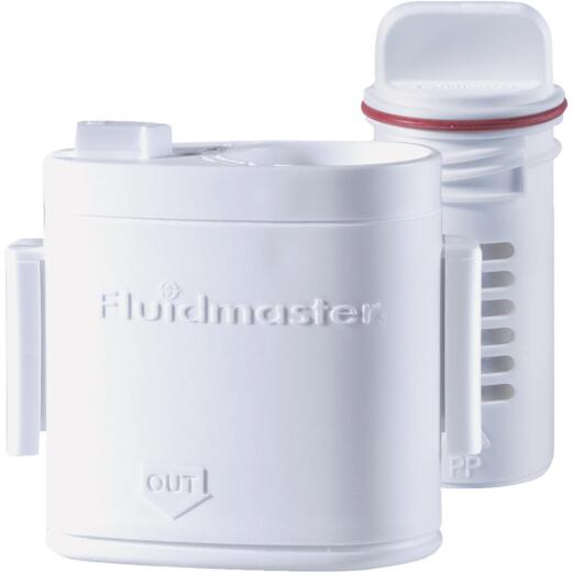 Fluidmaster Flush 'n Sparkle Automatic Toilet Bowl Cleaning System with Bleach