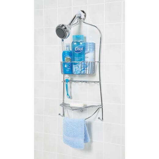 Zenith Metal 11-1/2 In. x 24-1/2 In. Shower Caddy