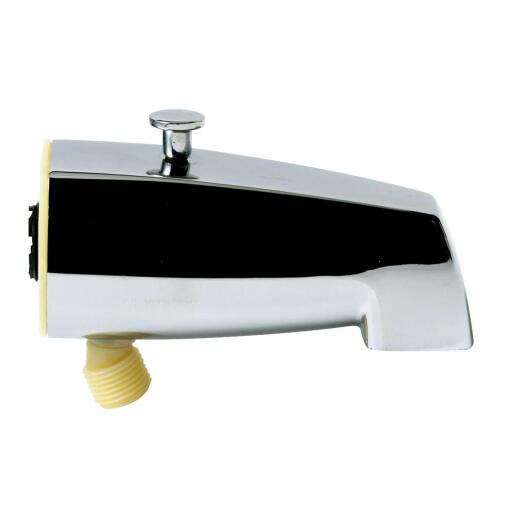 Do it 5-1/2 In. Bottom Mount Chrome Bathtub Spout with Diverter