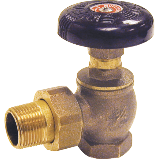 ProLine 1-1/4 In. MIP Brass Radiator Valve