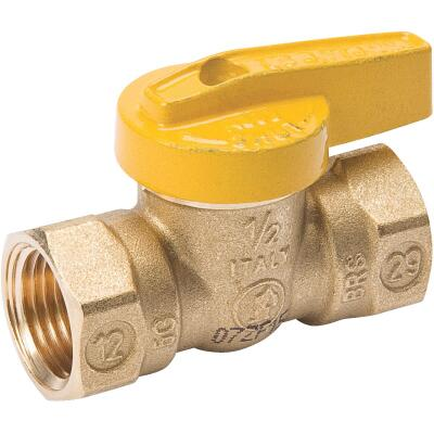 ProLine 1/2 In. FIP x 1/2 In. FIP Brass Gas Ball Valve