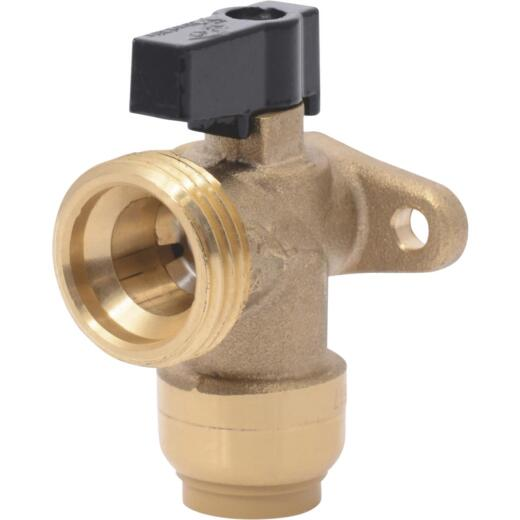 SharkBite 1/2 in. x 3/4 in. MHT Push-to-Connect Angle Washing Machine Valve