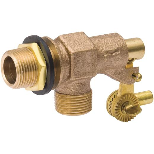 B & K 3/4 In. Stock Tank Float Valve Thread Outlet