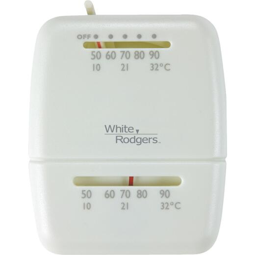 White Rodgers 24V Off-White Mechanical Thermostat